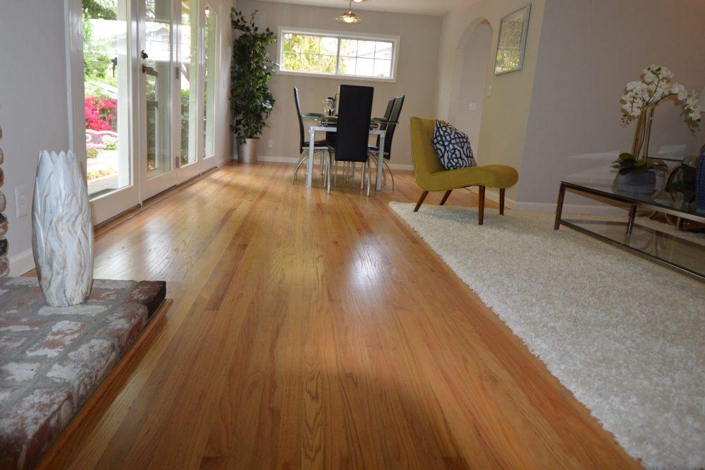 Living room after redo
